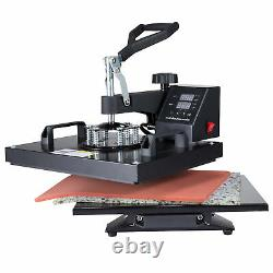 12 X 15 Heat Press Machine Digital Transfer Sublimation for T-shirt Mouse Pad