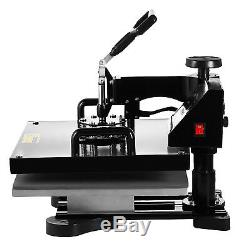 8 in 1 Combo T-Shirt Heat Press Machine Digital Transfer Sublimation 15x15