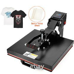 Heat Press Machine 15x15 Digital Sublimation Transfer for T Shirt Clamshell
